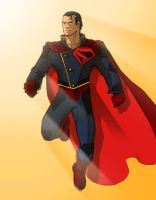 Superman Redesign by W-Orks