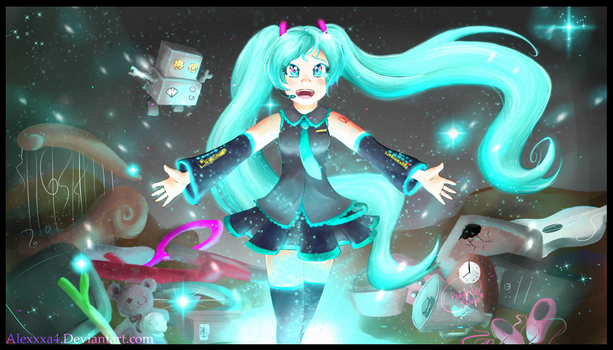 Miku-Odds and Ends by Alexxxa4