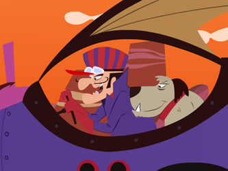 Wacky Races - Mean Machine by ahmednayyer