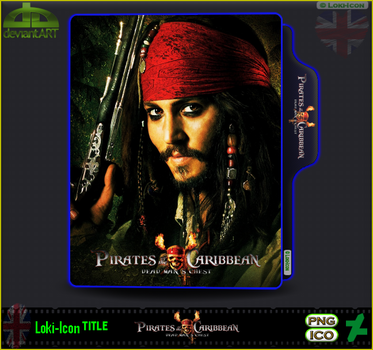 Pirates of the Caribbean Dead Man's Chest (2006) 1 by Loki-Icon