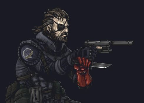 Big Boss - Sneaking Suit - Cropped by HuntingTown