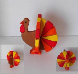 Small Standing Turkey by sweetpie2