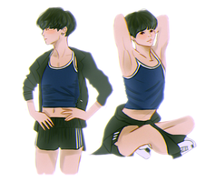 Sporty Yoongi by SugaShook