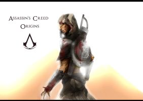 Assassin's Creed: Origins by TheFaunDoll-sCanvas