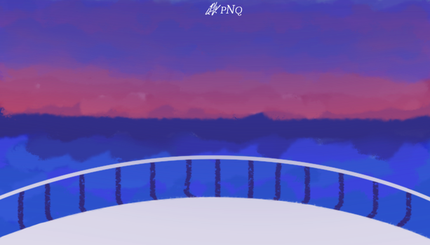 [PAINTING] THE SAD SUNSET by julie0311
