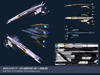 SSV Normandy SR2 Mass Effect 2 by OliverJanoschek