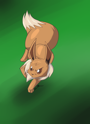 eevee ready for battle by manga-inu-chan