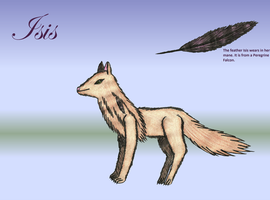 Isis Reference Sheet by Greenpolarbear47