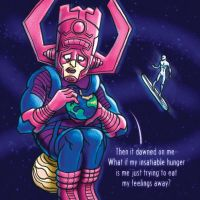 Galactus Confronts His Problems by RockyDavies