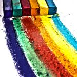 chalk rainbow HDR by SaphoPhotographics