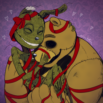 FNAF - You're My Favourite Present (Commission) by Atlas-White