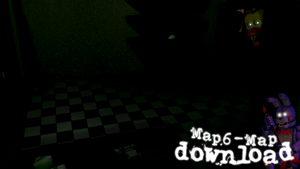 FNAF 6 Map - Special 200 Watchers! by PaPaPo165