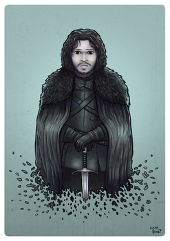 Jon Snow by lucasfranci