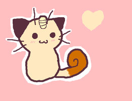 Meowth by Snivy2345