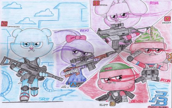 The OCs + Point Blank = ...??? by RifkiTheAmateur