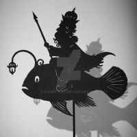Morskoi Tsar - Shadow Puppet by PaperTales