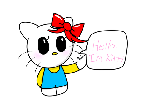 Hello Kitty by lalakun0123