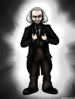 The First Doctor: William Hartnell by ApocalypseCartoons