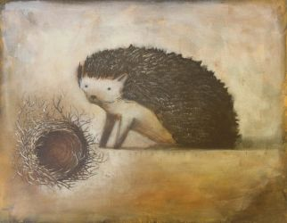 Hedgehog finds a Nest by SethFitts