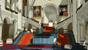 (MMD Stage) Hyrule Castle Interior Download by SAB64