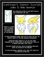 Digimon tutorials -renamon 11 by IceRenamon