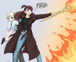 Akko files by Flick-the-Thief