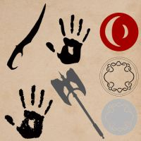 Tes Icon Shapes Ver.1.0 by samejimachich