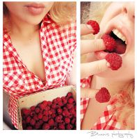 Rasberry sweet summer. by Bunnis