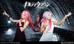 Guilty Crown - Inori and Mana by nutcase23