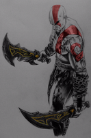 Kratos by DaNew-Guuy