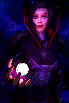 The Void Priestess by Lady-Fortunes