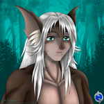 Andeos: The God of Earth Portrait by Gneiss-chert
