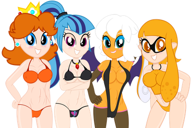 Lucky Lady Lineup by MrMaclicious