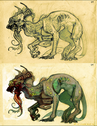 Monster conceptart 01 by LiLaiRa