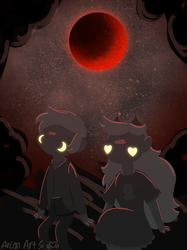 Night of Blood Moon by ArionArts