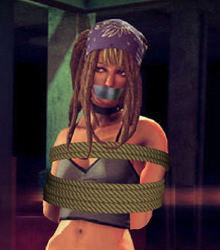 ThirdStreetKid Gift: Shaundi Bound and Gagged by Yalleo