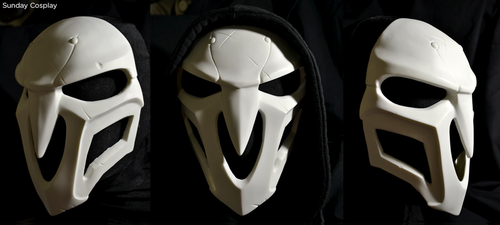 Overwatch Reaper Mask - Cosplay by smirnoff-pirate