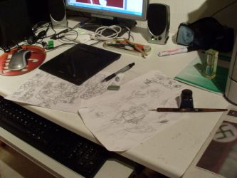 My working area2 by SadlyLover