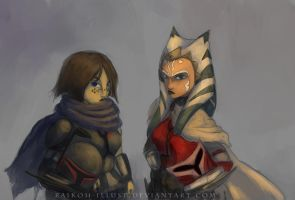 Mando Offee and Tano by Montano-Fausto