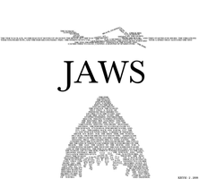 JAWS - Typography Version by iwannabegackt