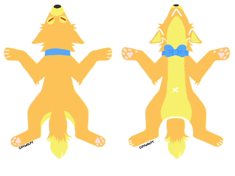 Proxy Fox Pelt Ref by suchtrashley