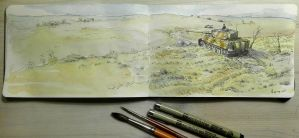 Sketchbook: Eastern Front by woutart