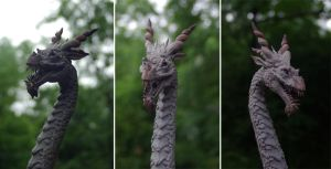 Dragon Sculpture - Ryujin I by SovaeArt