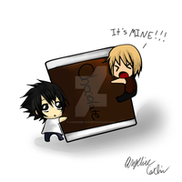 A ChocoLate Crave (L vs Mello) by Awesome-Vivi