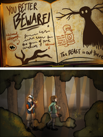 Gravity Falls: Better Beware! by Charlemage