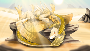 Sunbath by Anais-thunder-pen