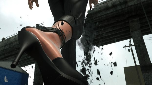 Overly Attached Giantess 2 preview 4 by RedFireD0g