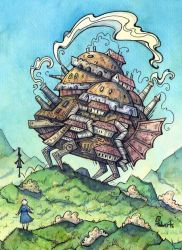 Howls Moving Castle by CorinneRoberts