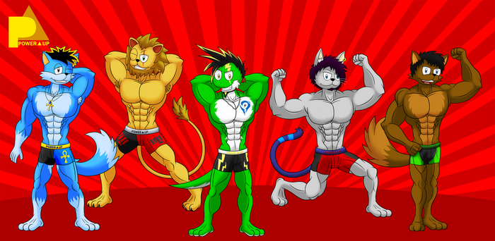 FM: Muscle Show With PowerUP by skull1045fox