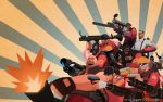 Wallpaper: TF2 RED by haruningster